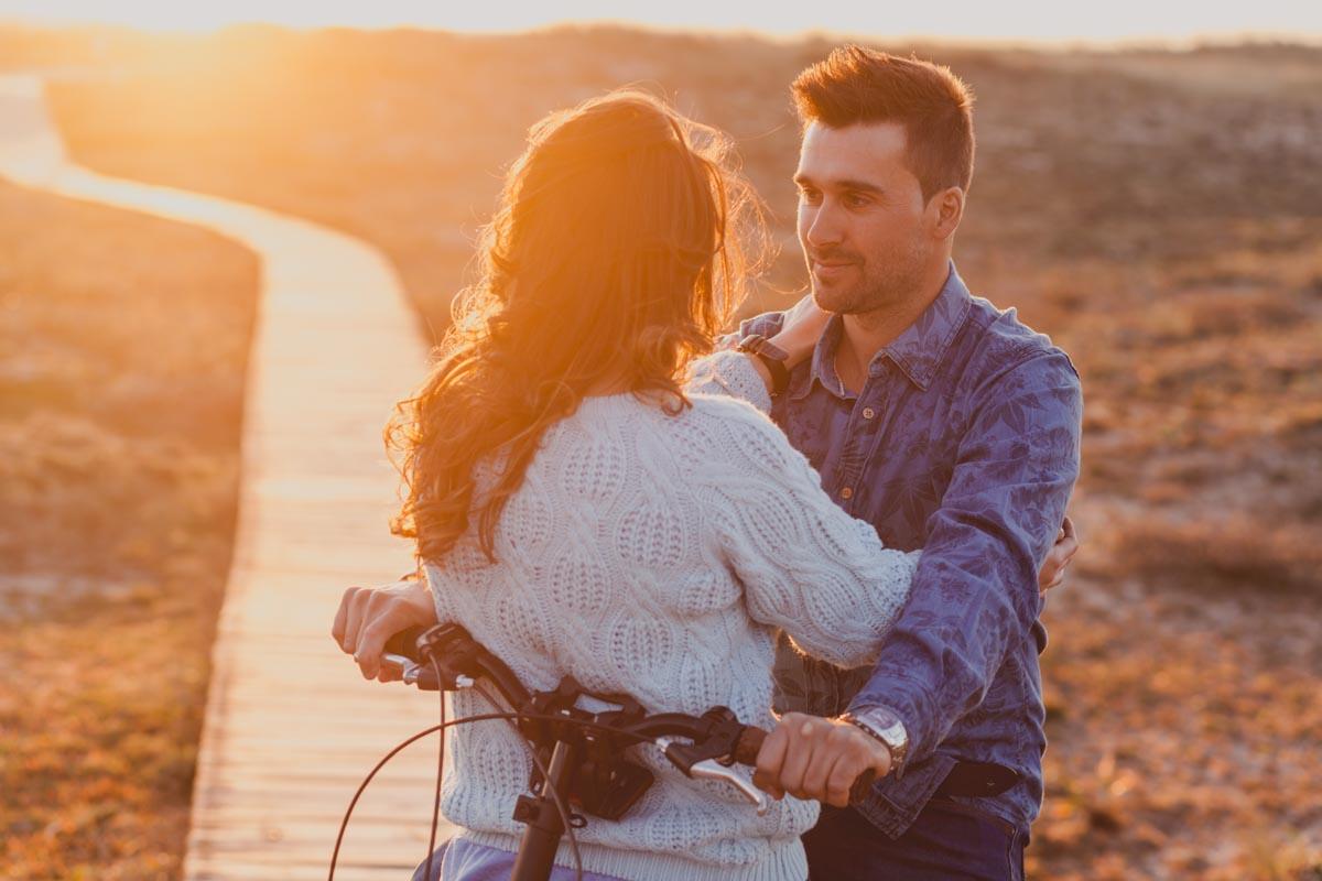 pre-boda bicicleta