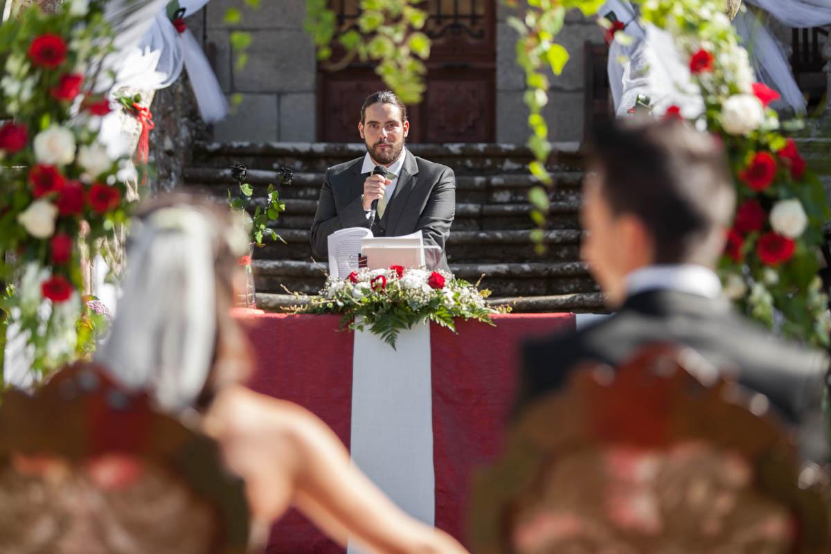 ceremonia civil en pazo urzáiz