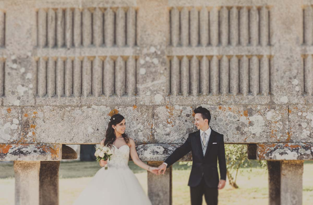 fotografía de boda en pazo de urzáiz