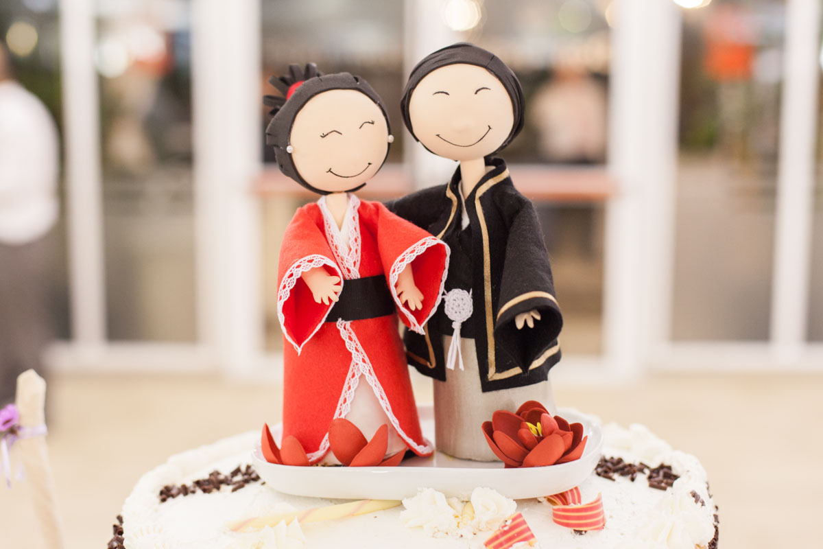 muñecos tarta novios