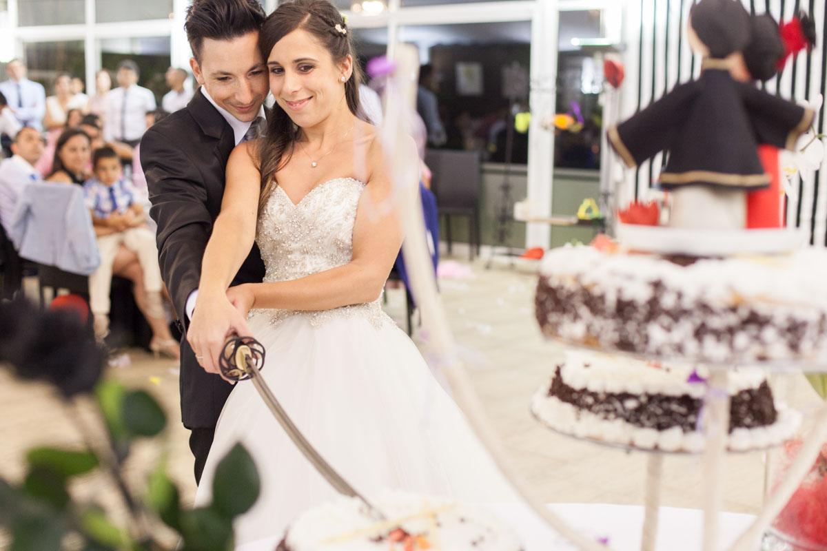 corte tarta bodas katana