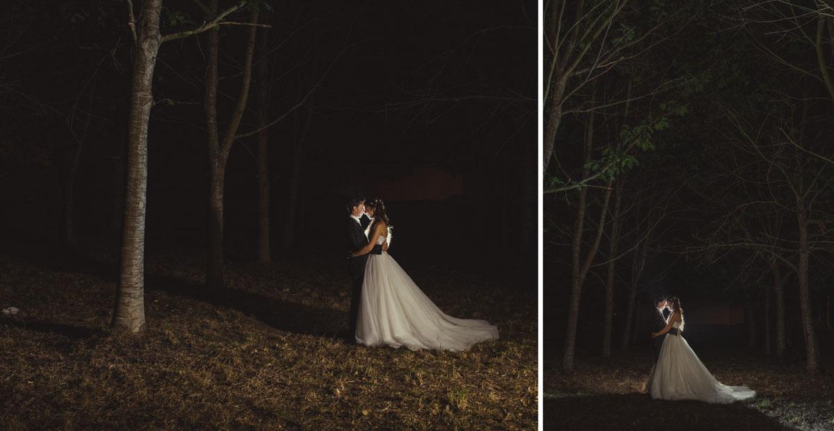 fotografía de boda artística