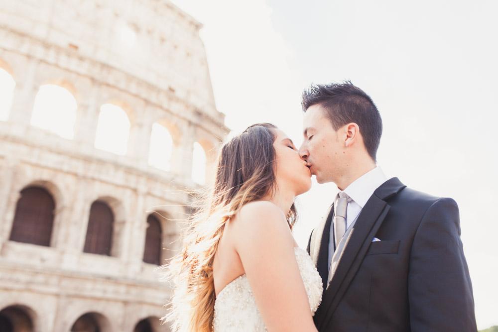 post-boda en roma