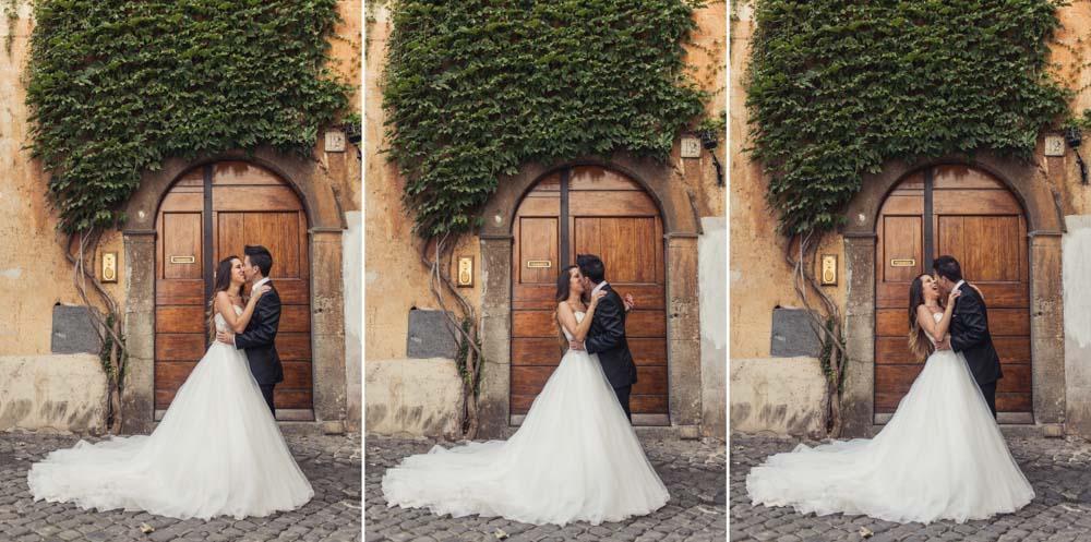 post-wedding rome