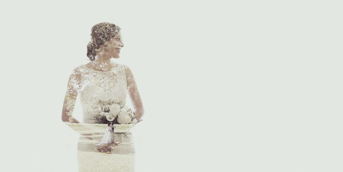doble exposición boda