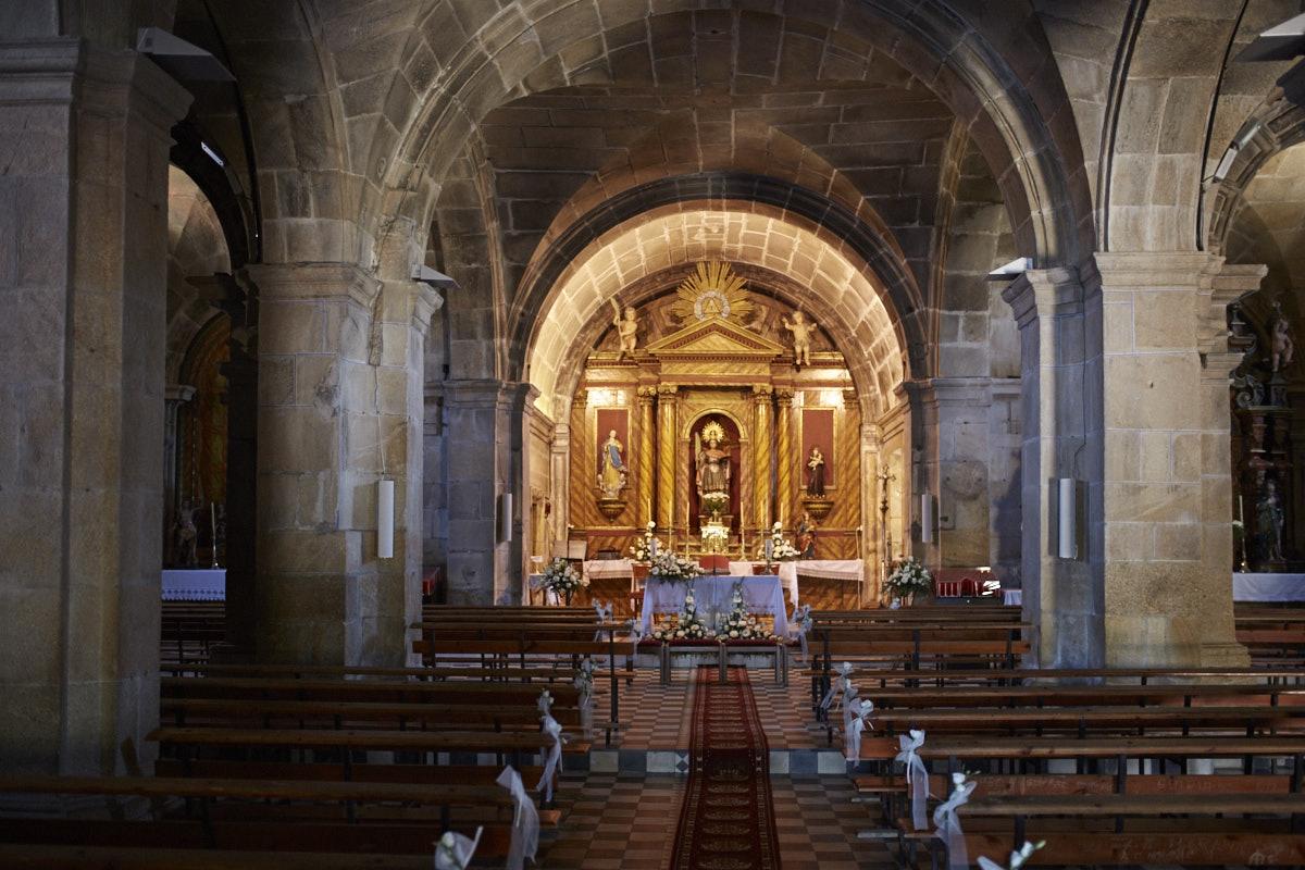 iglesia de sana comba en carnota