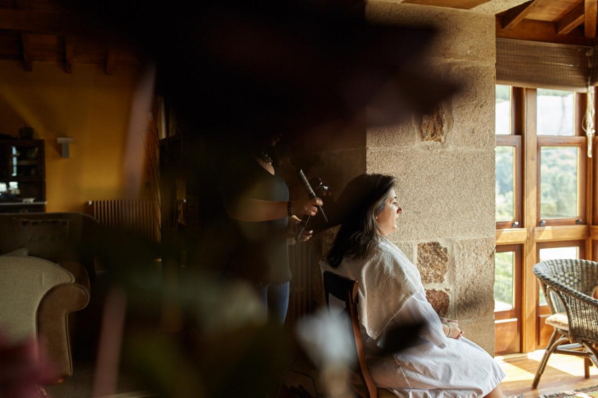 preparativos de boda en casal de armán