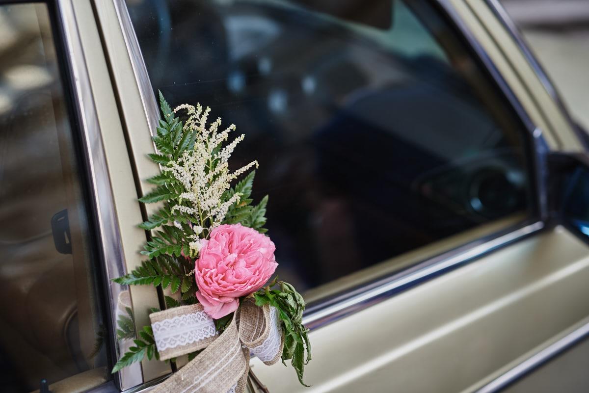 detalle coche novia