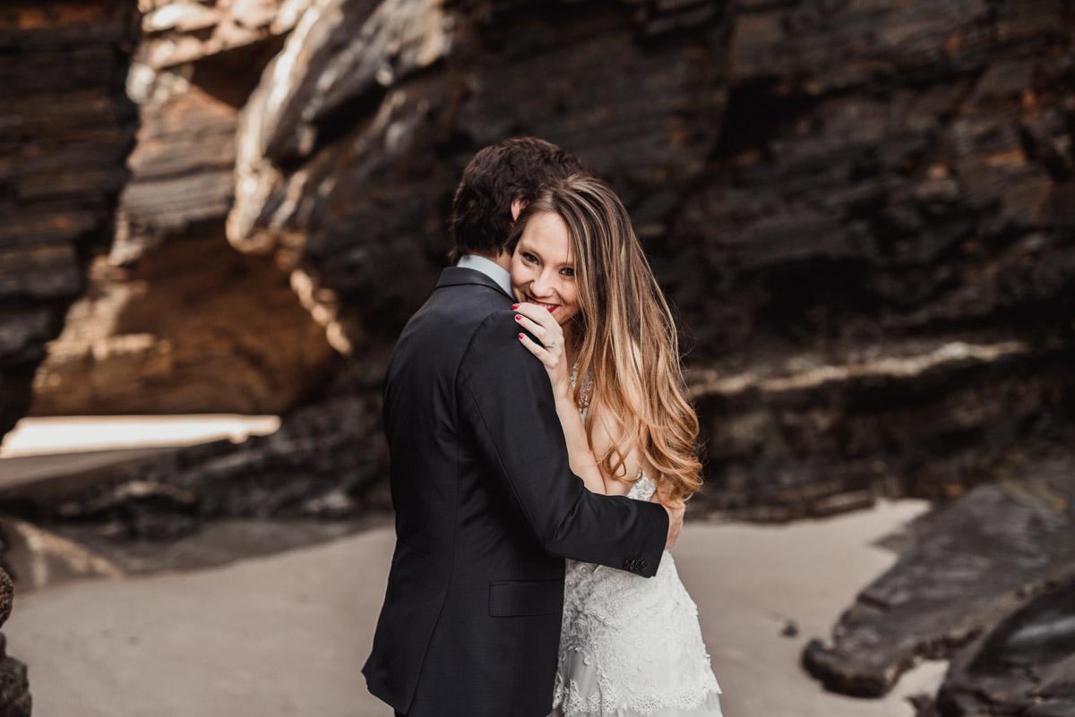boda en la playa de las catedrales