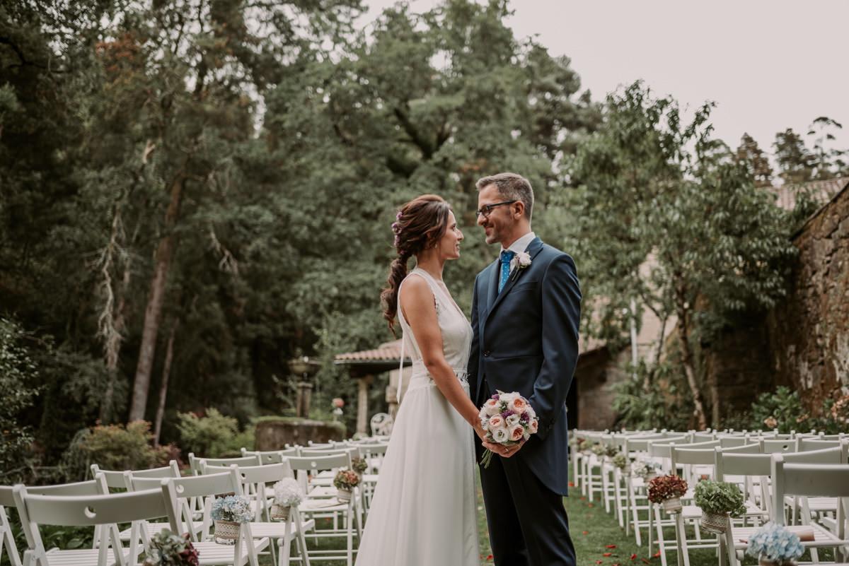 boda civil en pazo faramello