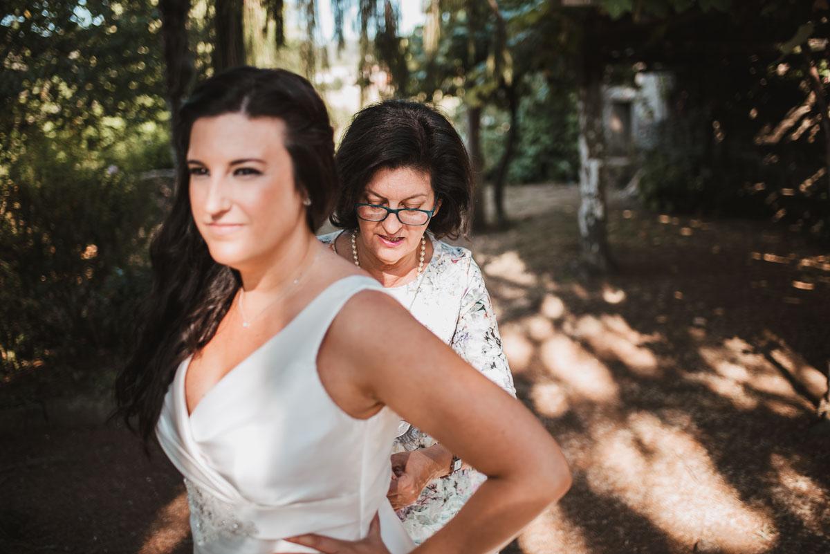 preaparativos de novia