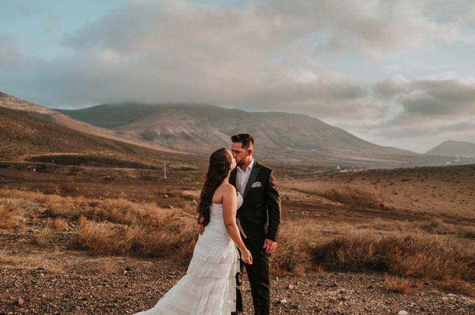 Post-boda en Fuerteventura
