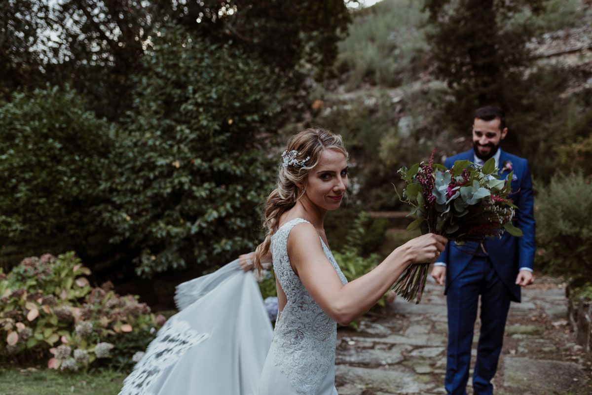 jardines pazo faramello boda