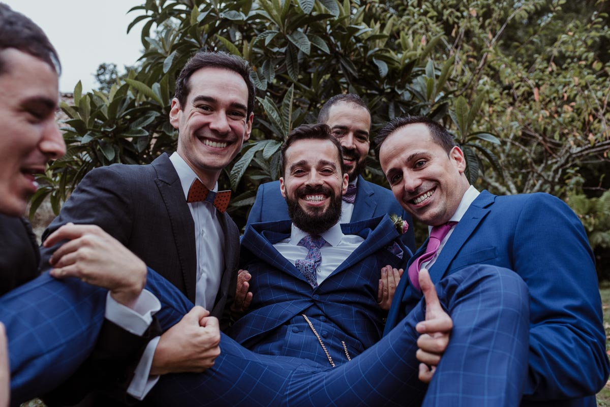 boda civil pazo faramello