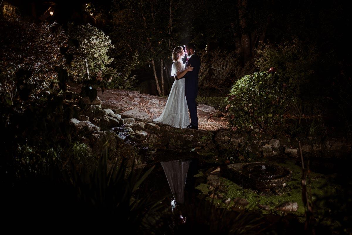 fotos de boda de noche